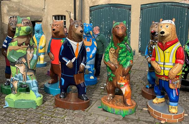Colourful bears to roam the Wild Place Project from Easter